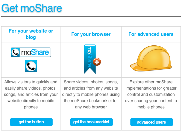 share to mobile, social sharing