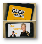 Text Glee to 94444